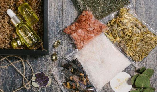 DIY Sales Florales de Baño